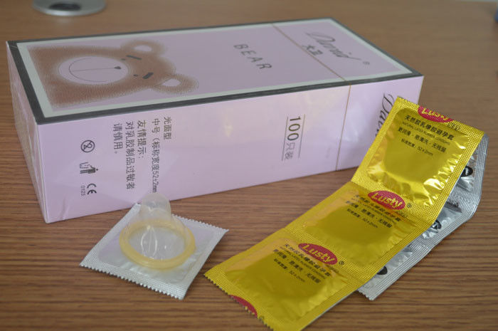 Chocolate / Banana Flavored Condoms , Delay Ejaculation Condoms Sex Products